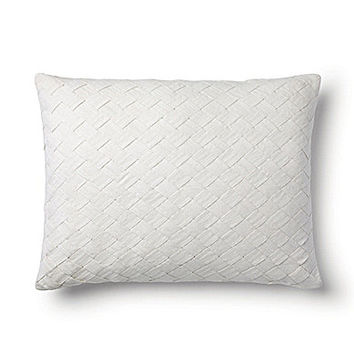 "Ralph Lauren Elenda 15x20"" Decorative Pillow - White"