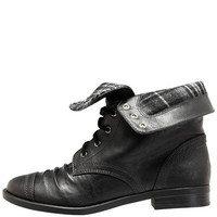 Women's - Brash - Women's Ollie Plaid Cuff Boot