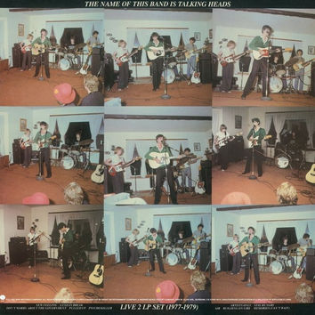 Talking Heads : The Name of This Band Is Talking Heads 2xLP RE (180 Gram)