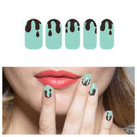 Mint Chocolate Chip - Nail Wraps (Set of 22)