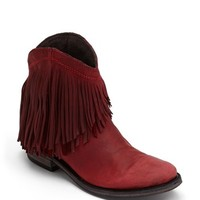 Liberty Black Short Fringe Boot