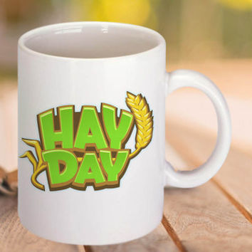 hay day logo coffee mug,tea mug,11 oz