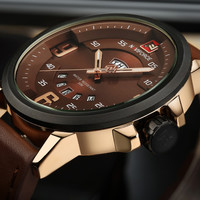 NAVIFORCE New Luxury Brand Men Army Military Wrist Watches Men's Quartz Date Clock Male Leather Sports Watch Relogio Masculino