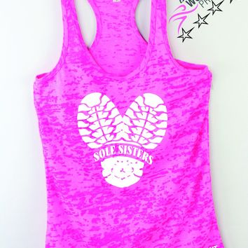 Sole Sisters Running Tank Top
