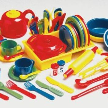 Childcraft deluxe kitchen play set 71 from amazon things i for Child craft play kitchen