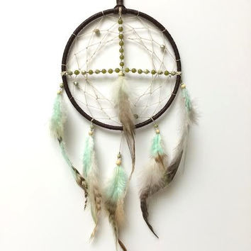 Dream Catcher - Medicine Wheel - Spiritual, Sacred Hoop Dream Catcher
