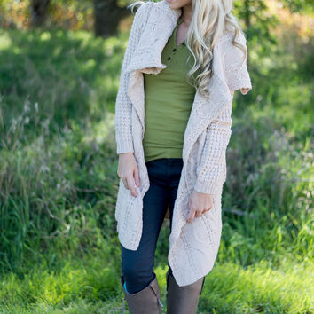 Hug Me Cardigan - Cream