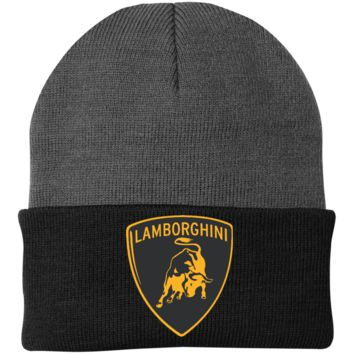 Lamborghini CP90 Port Authority Knit Cap