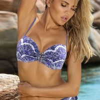 Full Diamonds Floral Beach Wear Swimwear
