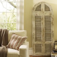 Beach House Shutter | Pottery Barn