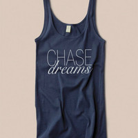 Chase Dreams Inspiration Cotton Tank Top
