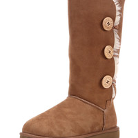Ugg Women's Bailey Button Triplet Boot - Chestnut