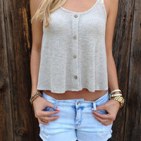 Lace Strap Swing Top