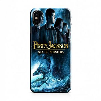 Percy Jackson (movie poster) iPhone X Case