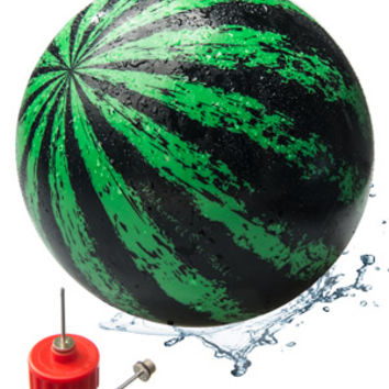 Watermelon Ball: Competitive pool game played with a unique water toy.