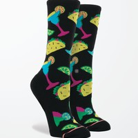 Stance Bite Me Crew Socks - Womens Scarves - Black - One