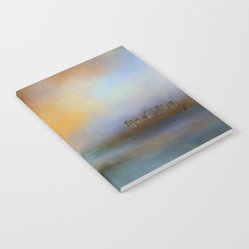 Monoliths - Who Were We Notebook by Theresa Campbell D'August Art