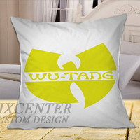 Wutang logo on Square Pillow Cover