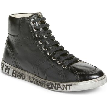 Saint Laurent Distressed Sneaker (Men) | Nordstrom