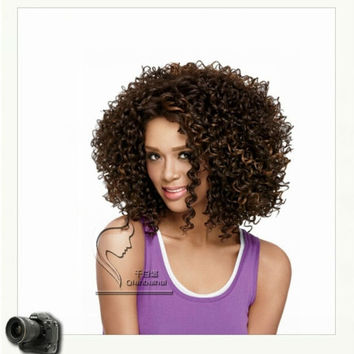 2015Hot Sale Charming Kinky Curly Brazilian Colorful Full Lace Hair Wig for Fashional Girl = 1753571844