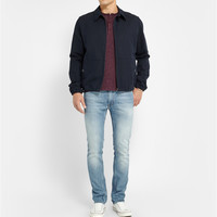 Club Monaco - Cotton-Blend Henley T-Shirt | MR PORTER