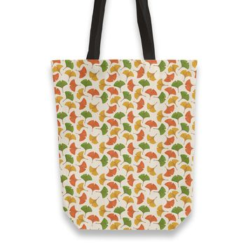 Fall ginkgo leaves pattern Totebag by Savousepate from €25.00 | miPic