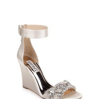 Aliyah Crystal Embellished Evening Wedge