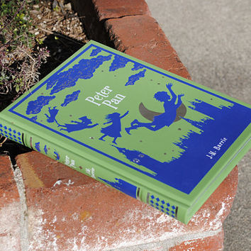 Hollow Book Safe - Peter Pan - Leather Bound