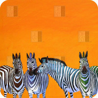 DENY Designs Home Accessories | Clara Nilles Candy Stripe Zebras BlingBox 3ct Cover