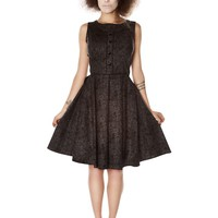 """Women's """"Mourn In Style"""" Dress by Folter Clothing (Black)"""
