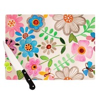 "Louise Machado ""The Garden"" Cutting Board"