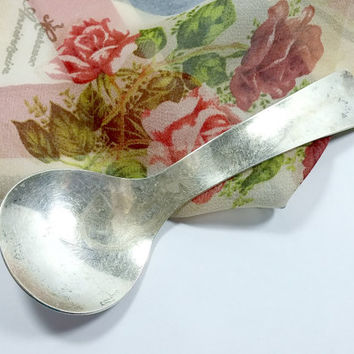 Allan Adler Sterling Silver Fruit Spoon Sunset Pattern Mid Century Swedish Modern Highly Collectible Use for Candy Dish Sugar Nuts & More...