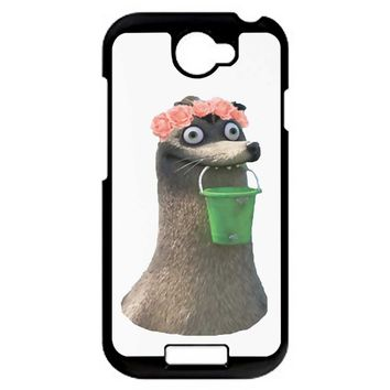 Gerald Finding Dory Flower Crown HTC One S Case