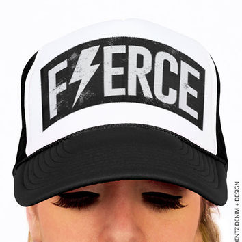 Fierce Hat - Black Trucker Hat