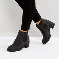 Office Apple Faux Fur Lined Boots at asos.com