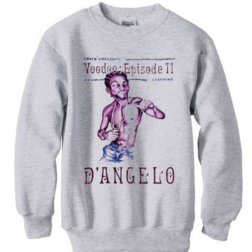 D'Angelo Voodoo sweatshirt - Ash Grey