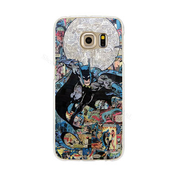 Batman Phone Case Back Cover for Samsung Galaxy S3 S4 S5 mini S6 S7 Edge
