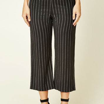 Twelve Pinstripe Wide-Leg Pants
