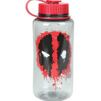 Marvel Deadpool Splatter Logo 32 Oz. Tritan Water Bottle