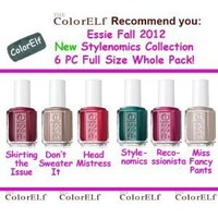 Essie 2012 Fall Stylenomics Collection 6pc Whole Pack (Full Size Bottle)