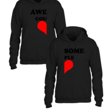Awesome Couple - Couple hoodie