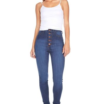 Orbit High Waist Skinny Jeans