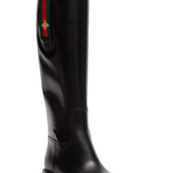 GUCCI Betis Black Boots