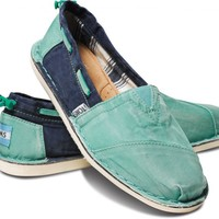 Green Blue Women's Bimini Stitchouts