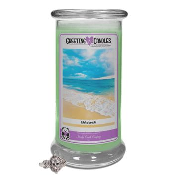 Life's A Beach! | Jewelry Greeting Candles