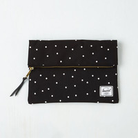 Minimal Away With Words Clutch by Herschel Supply Co. from ModCloth