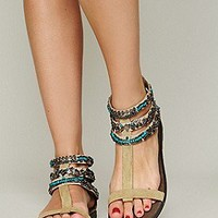 Sahara Beaded Sandal at Free People Clothing Boutique