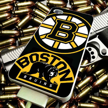 Boston Bruins Hockey art for iPhone 4/4s/5/5s/5c/6/6 Plus Case, Samsung Galaxy S3/S4/S5/Note 3/4 Case, iPod 4/5 Case, HtC One M7 M8 and Nexus Case ***