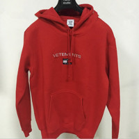 VETEMENTS x TOMMYHILFIGER Women Hot Hoodie Cute Sweater
