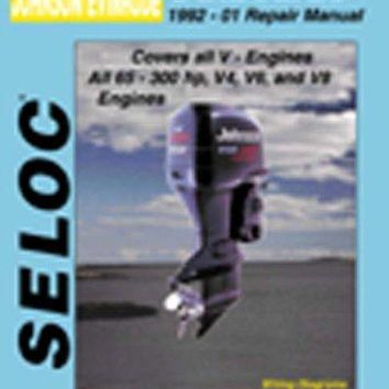 Johnson/Evinrude Outboards 1992-01 Repair Manual: All V-Engines, 65-300 Hp